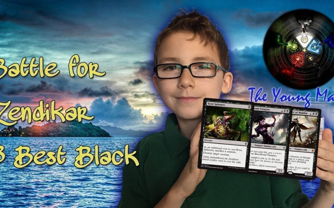 Magic the Gathering Battle for Zendikar Most Anticipated Black Cards