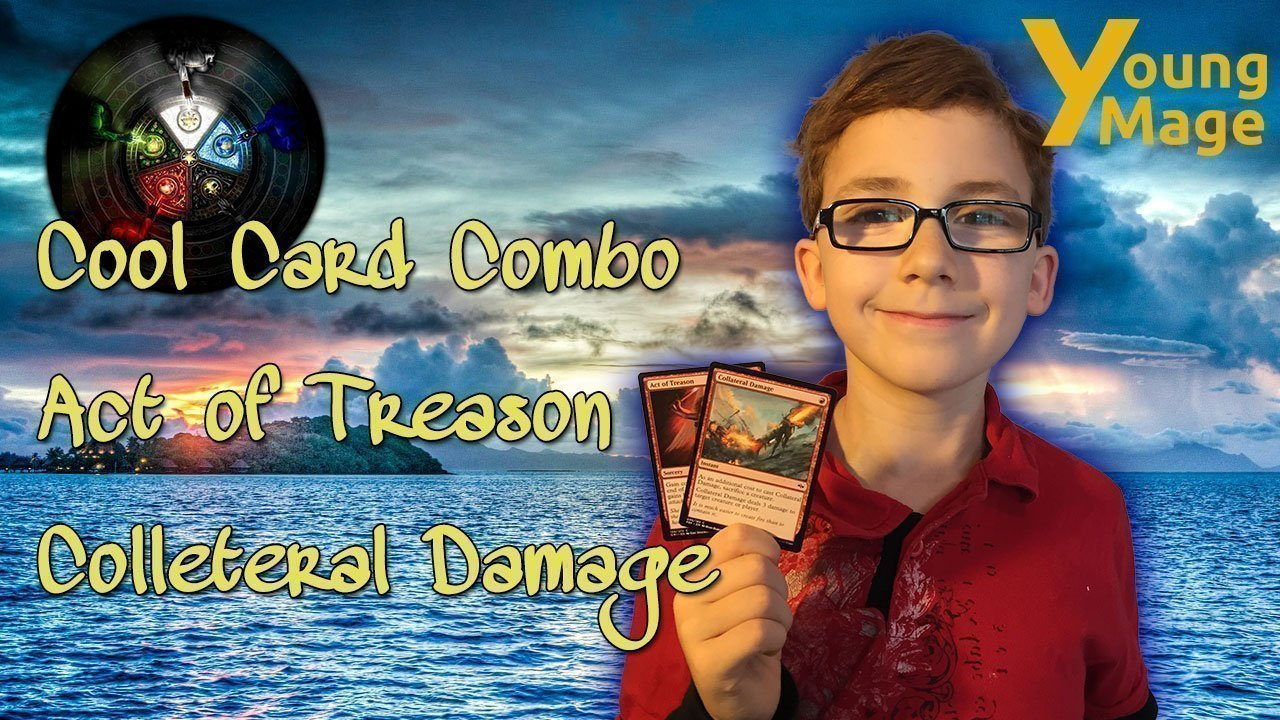 Cool Card Combo Act of Treason Colleteral Damage