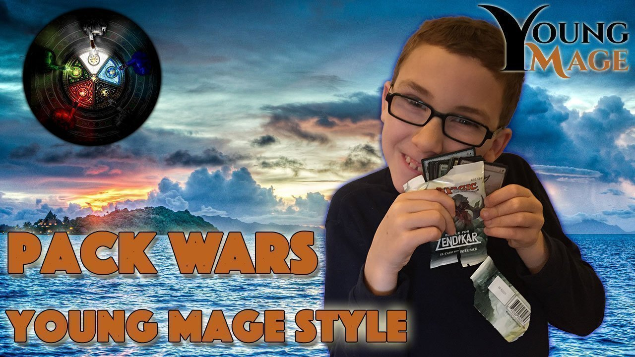 Pack Wars Young Mage Style