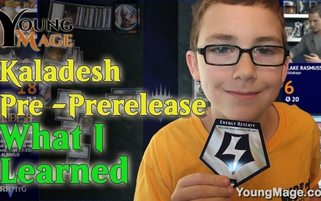 Kaladesh Pre Prerelease, What I Learned