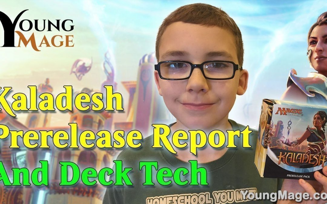 Kaladesh Prerelease Report and Surprise Deck Tech