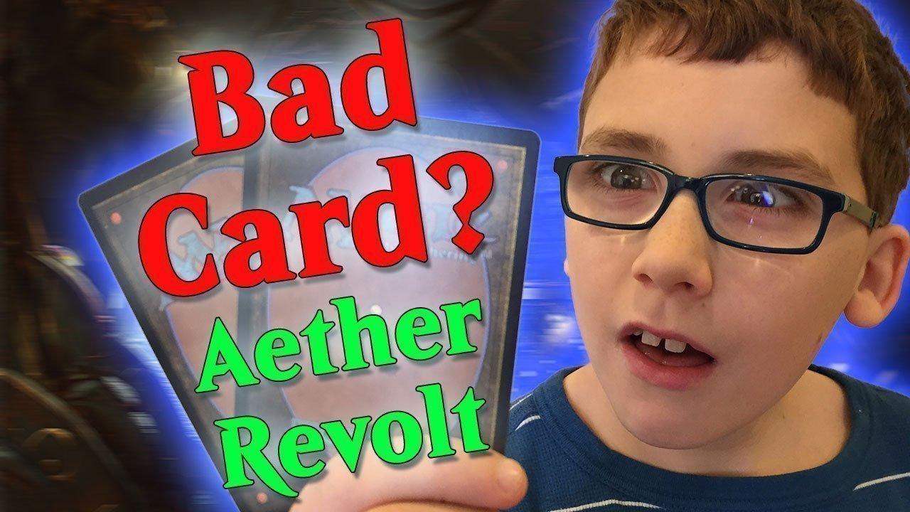 Aether Revolt Bad Card Challenge
