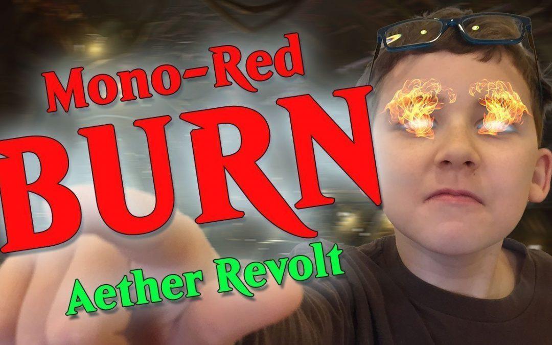 Budget Mono Red Burn using Aether Revolt