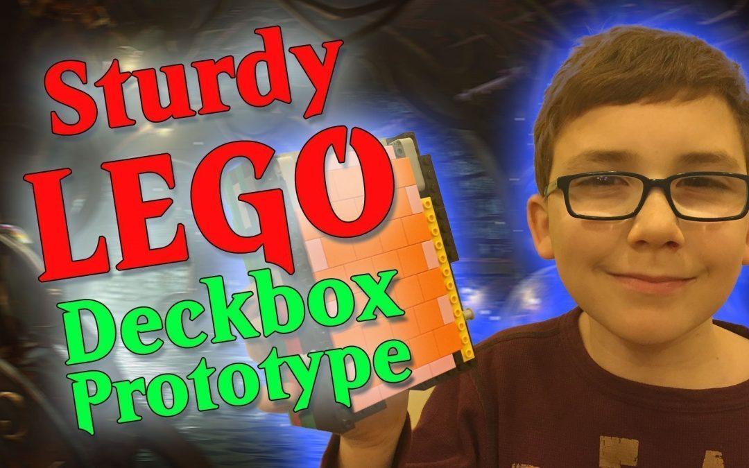 A Sturdy LEGO Deckbox Prototype