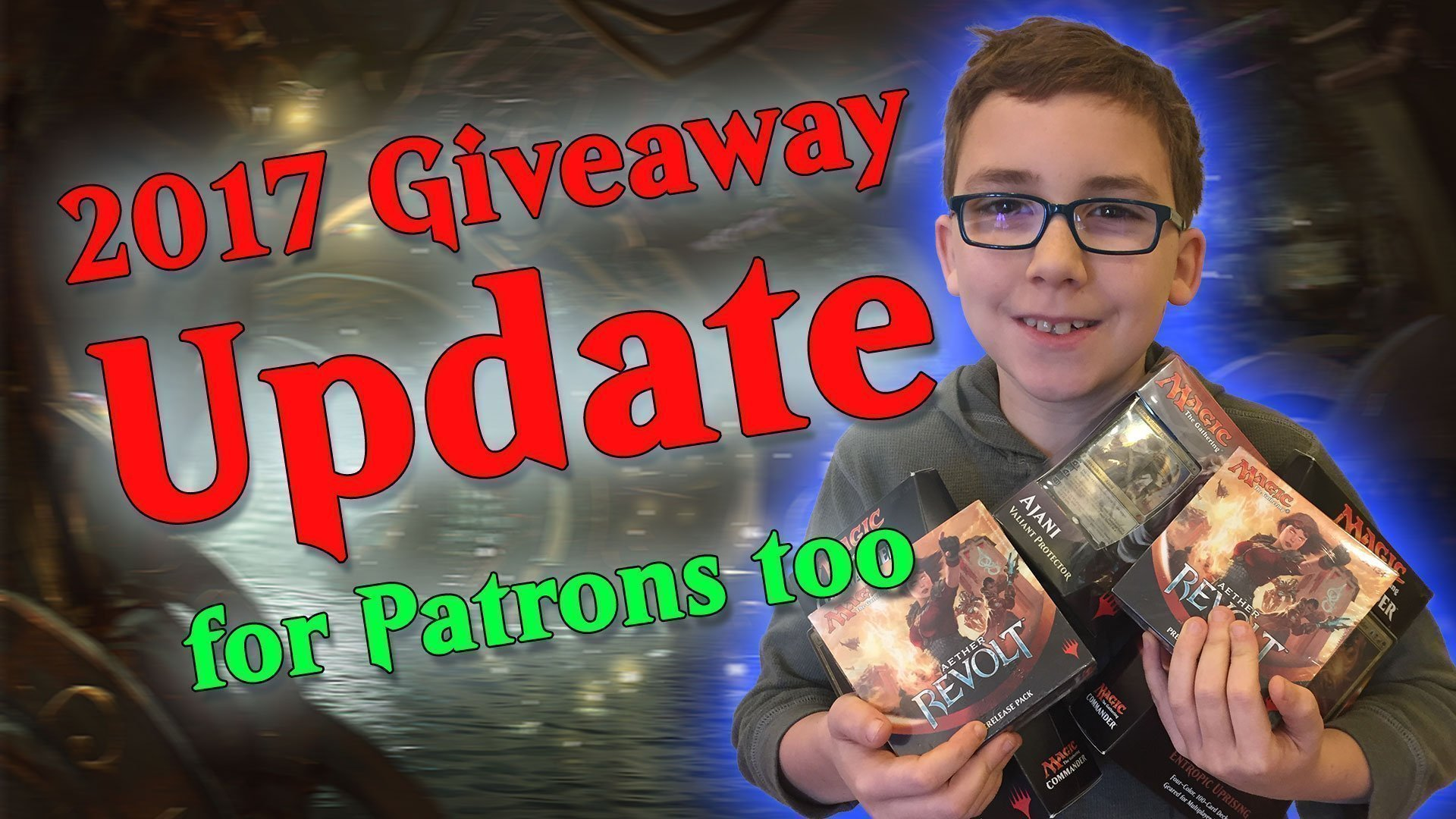 Young Mage 2017 Giveaways
