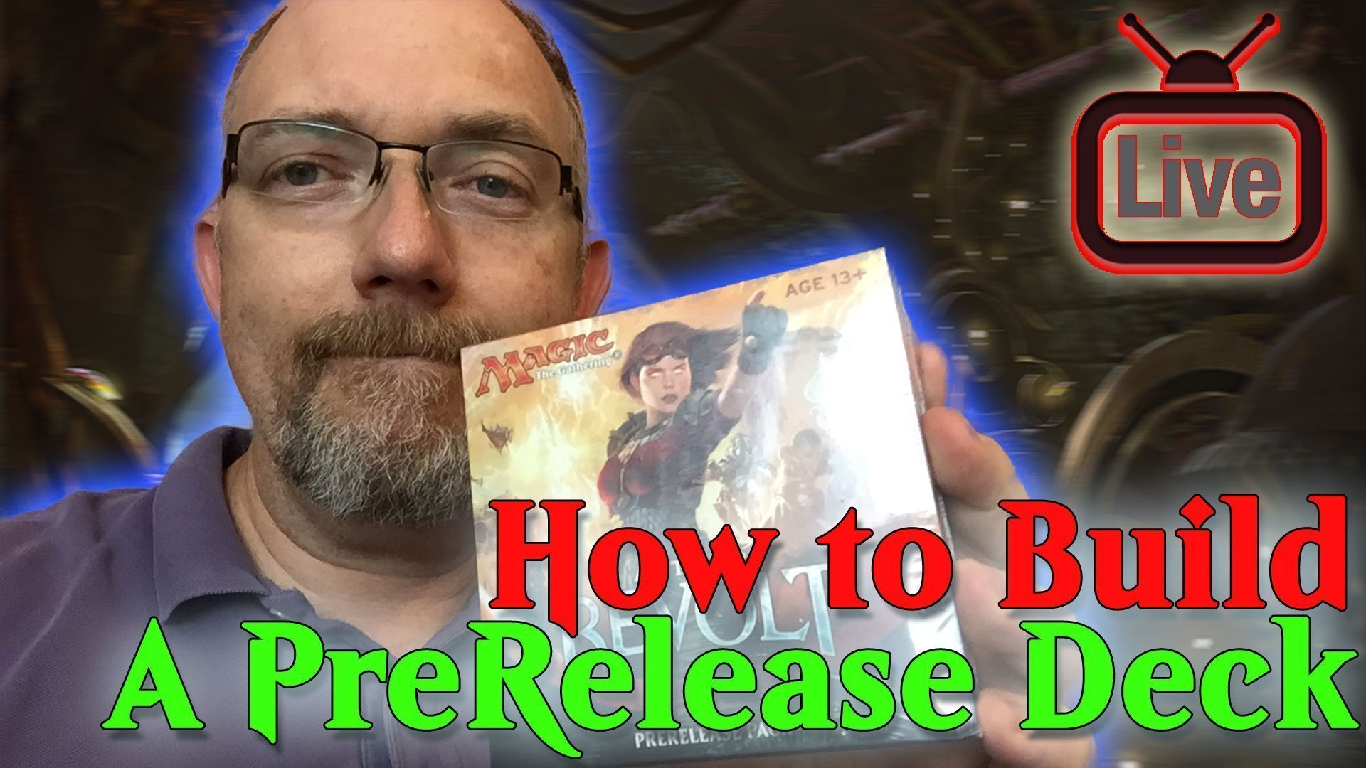 Magic the Gathering: How to Build a PreRelease Deck