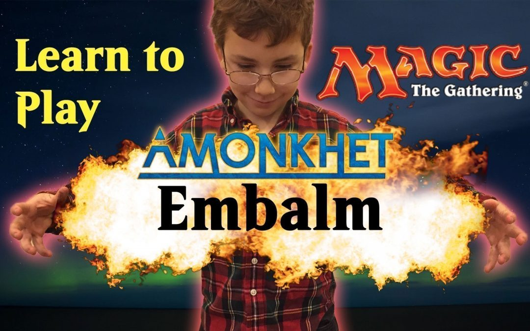 Learn Magic the Gathering Amonkhet Ability Embalm
