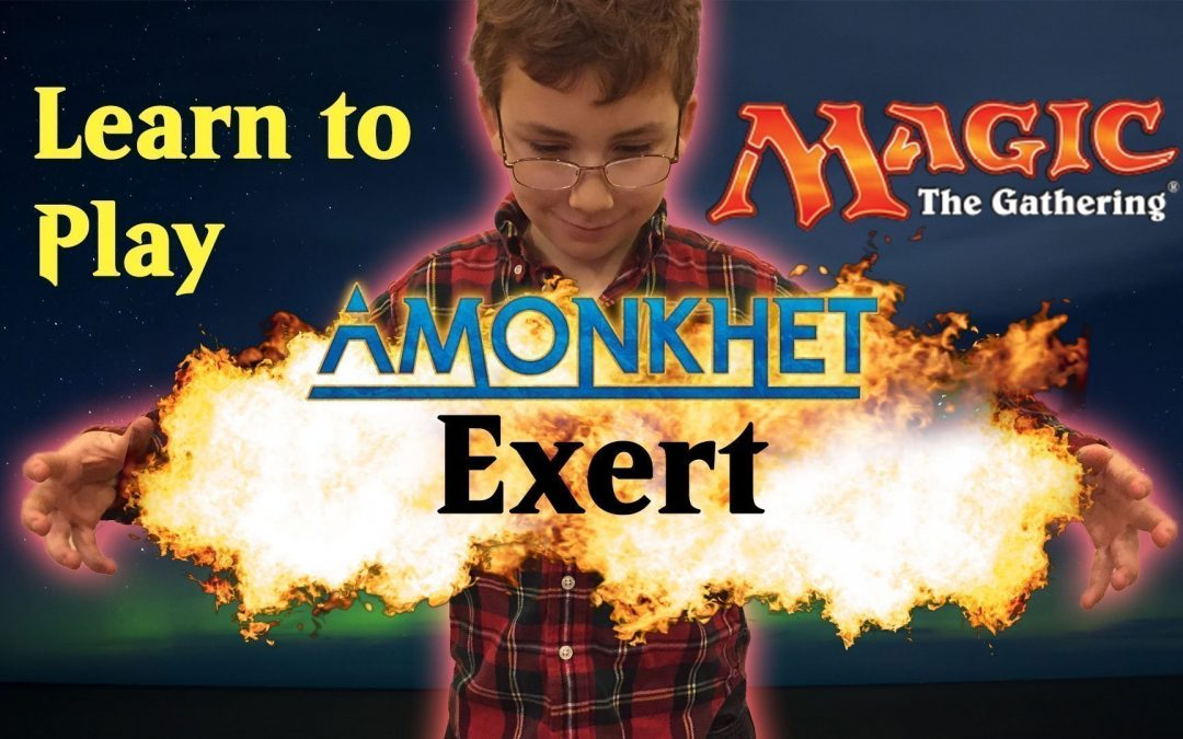 Learn Magic the Gathering Amonkhet Ability Exert