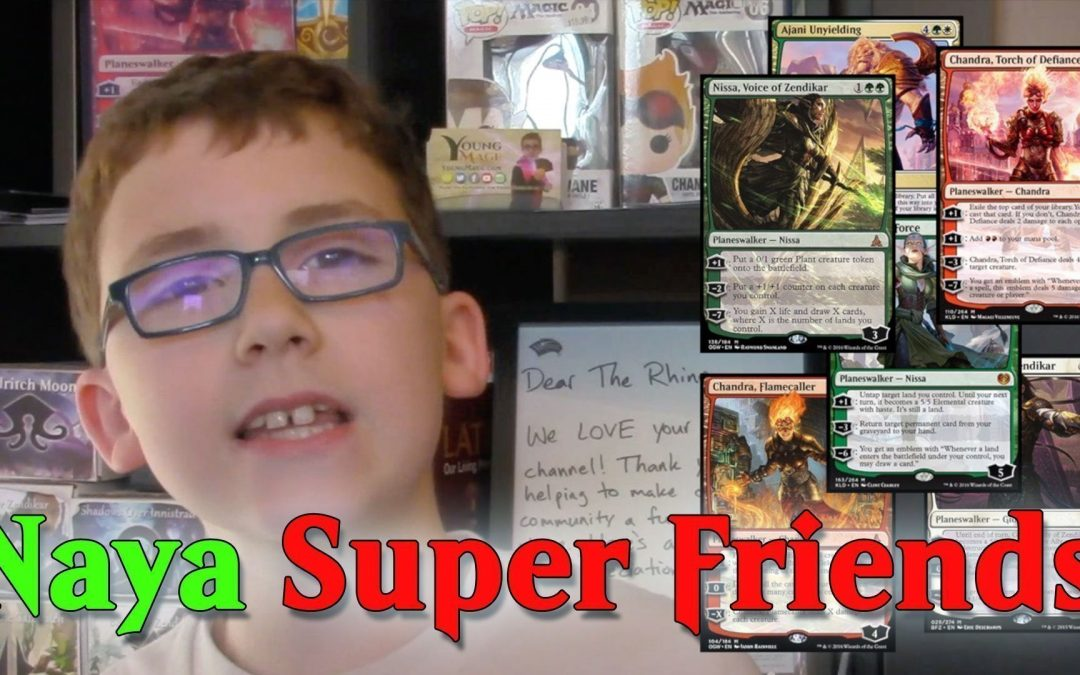 Naya Super Friends Deck Tech