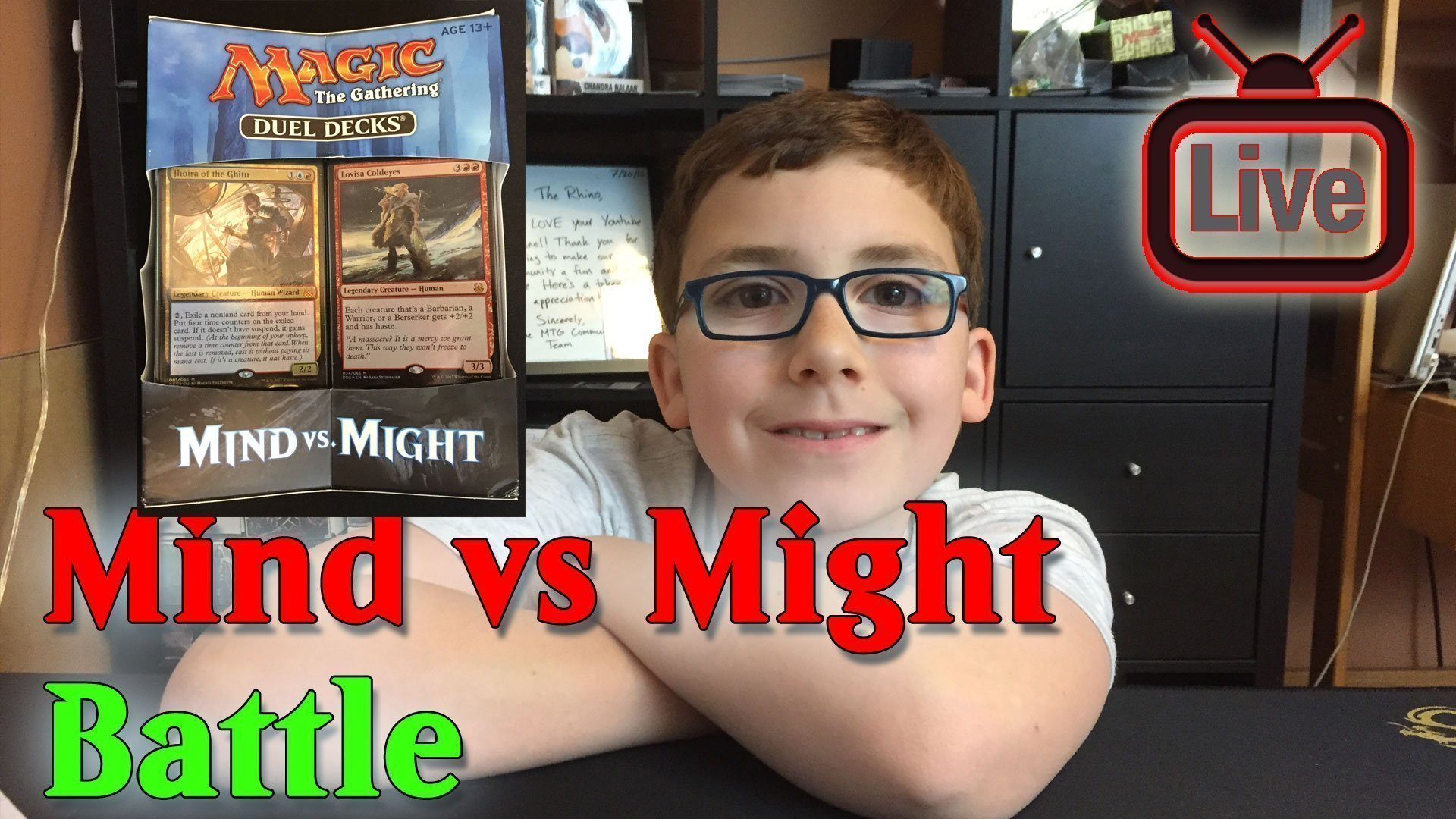 Magic the Gathering: Mind vs Might Game Play