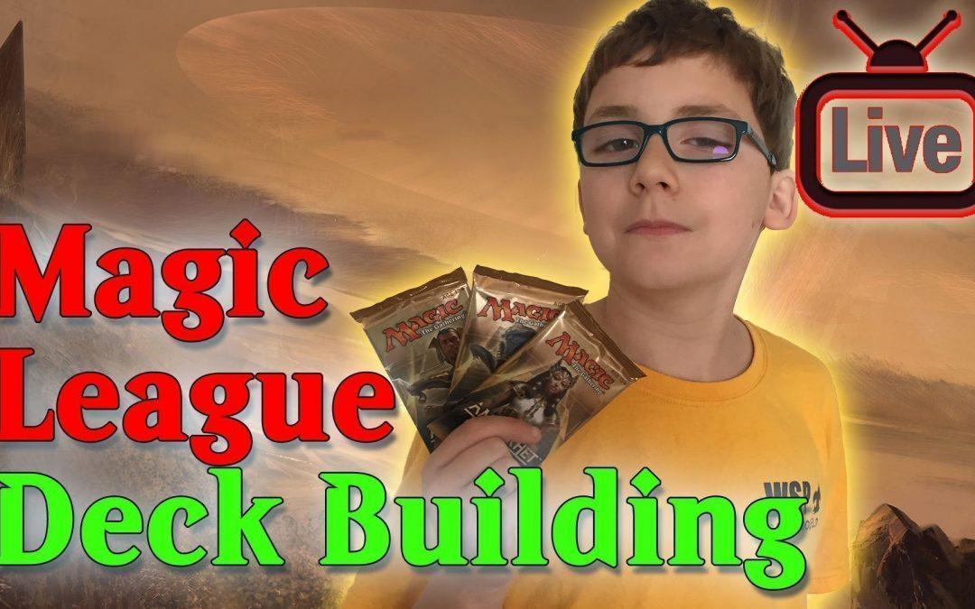 Magic League Deck Building