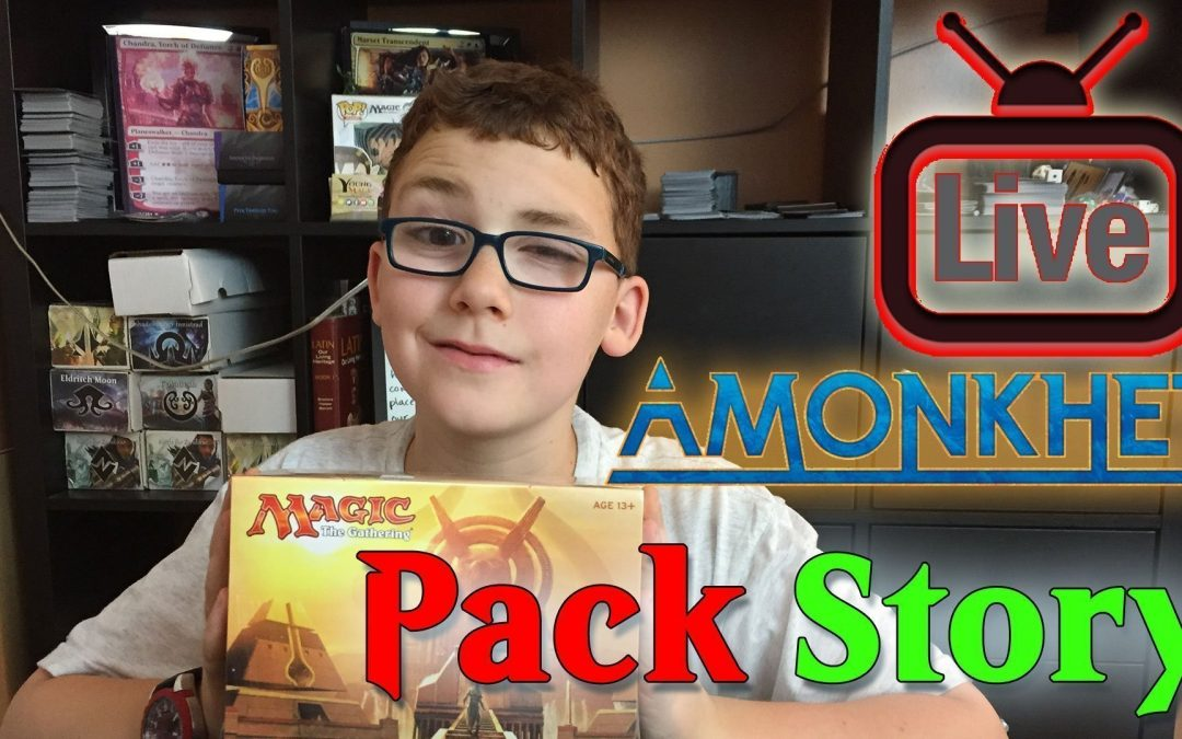 Amonkhet Pack Story Live