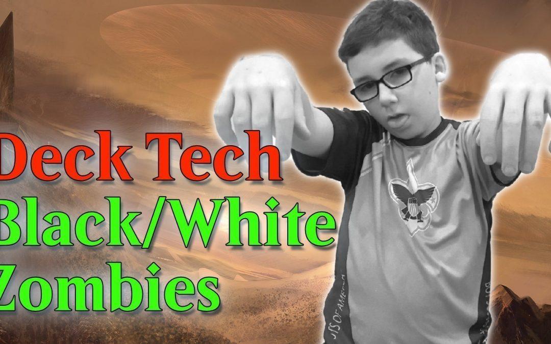 Amonkhet Black White Zombies Deck Tech