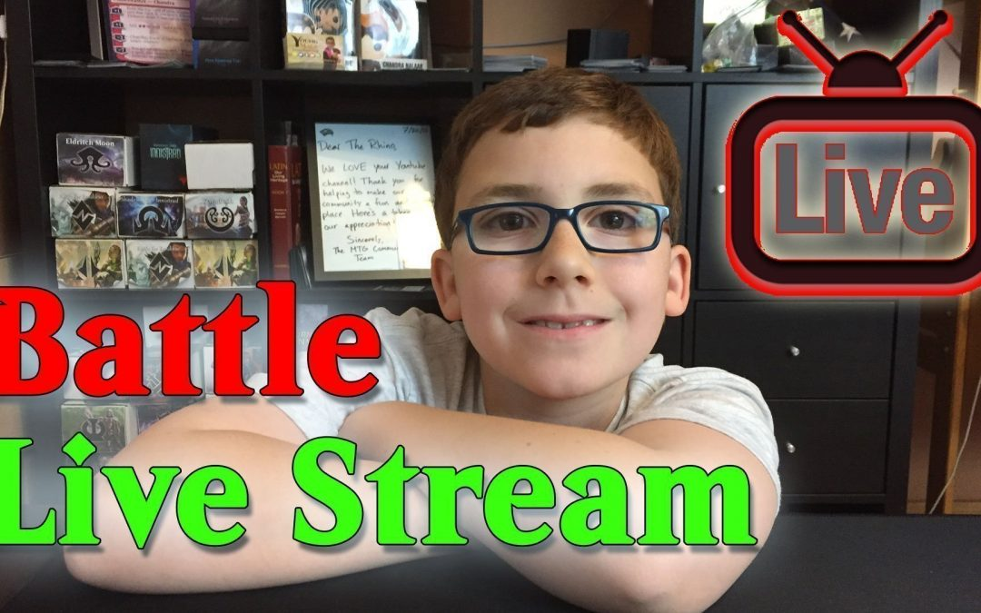 Live Stream #MTG Battle Cat Tribal vs Little Life