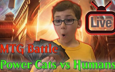 🔴 MTG Battle Power Cats vs R/W Humans