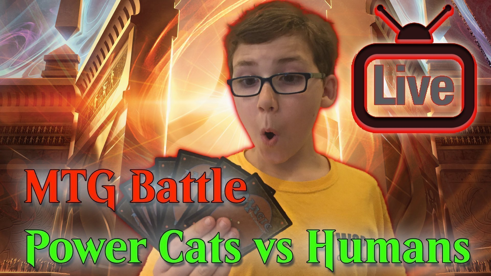Mtg Battle Power Cats Vs R W Humans 187 Young Mage