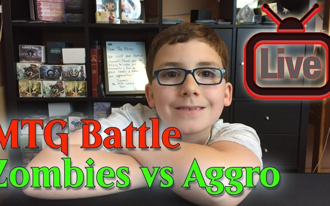 MTG Battle B/W Zombies vs Red Aggro