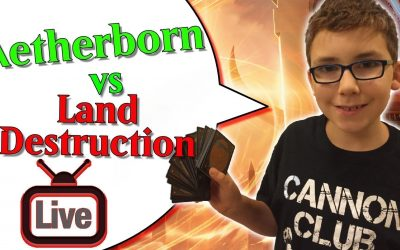 🔴 Aetherborn vs Land Destruction