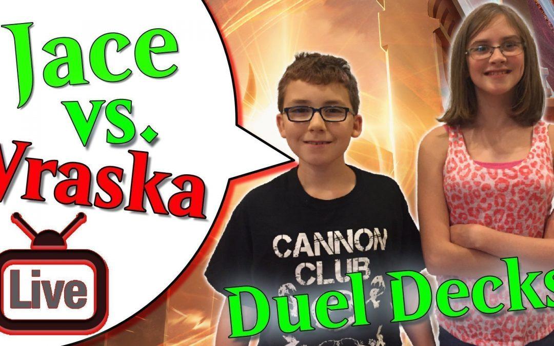 🔵 Jace vs Vraska Duel Deck Battle