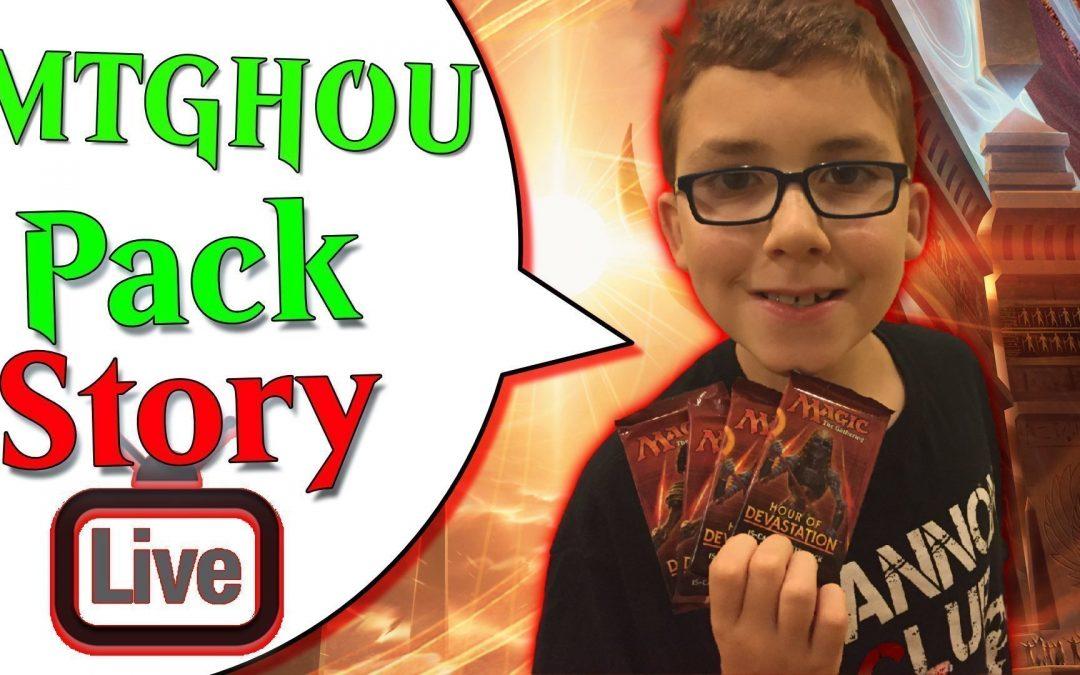 🔴 MTGHOU Pack Story