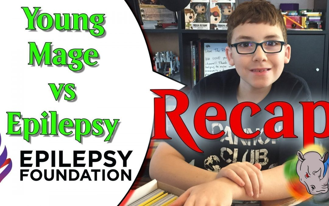 Epilepsy Foundation Fundraiser and Giveaway Winners