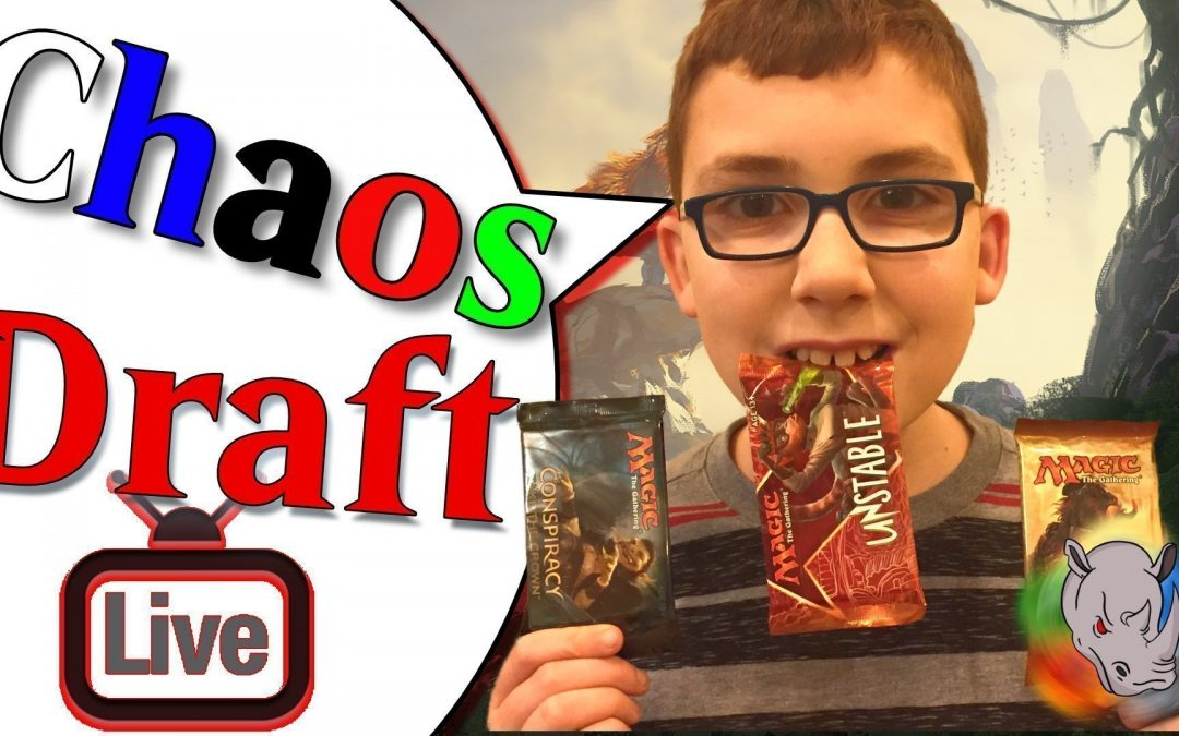 MTG Chaos Draft with Rivals of Ixalan, Unstable and Conspiracy