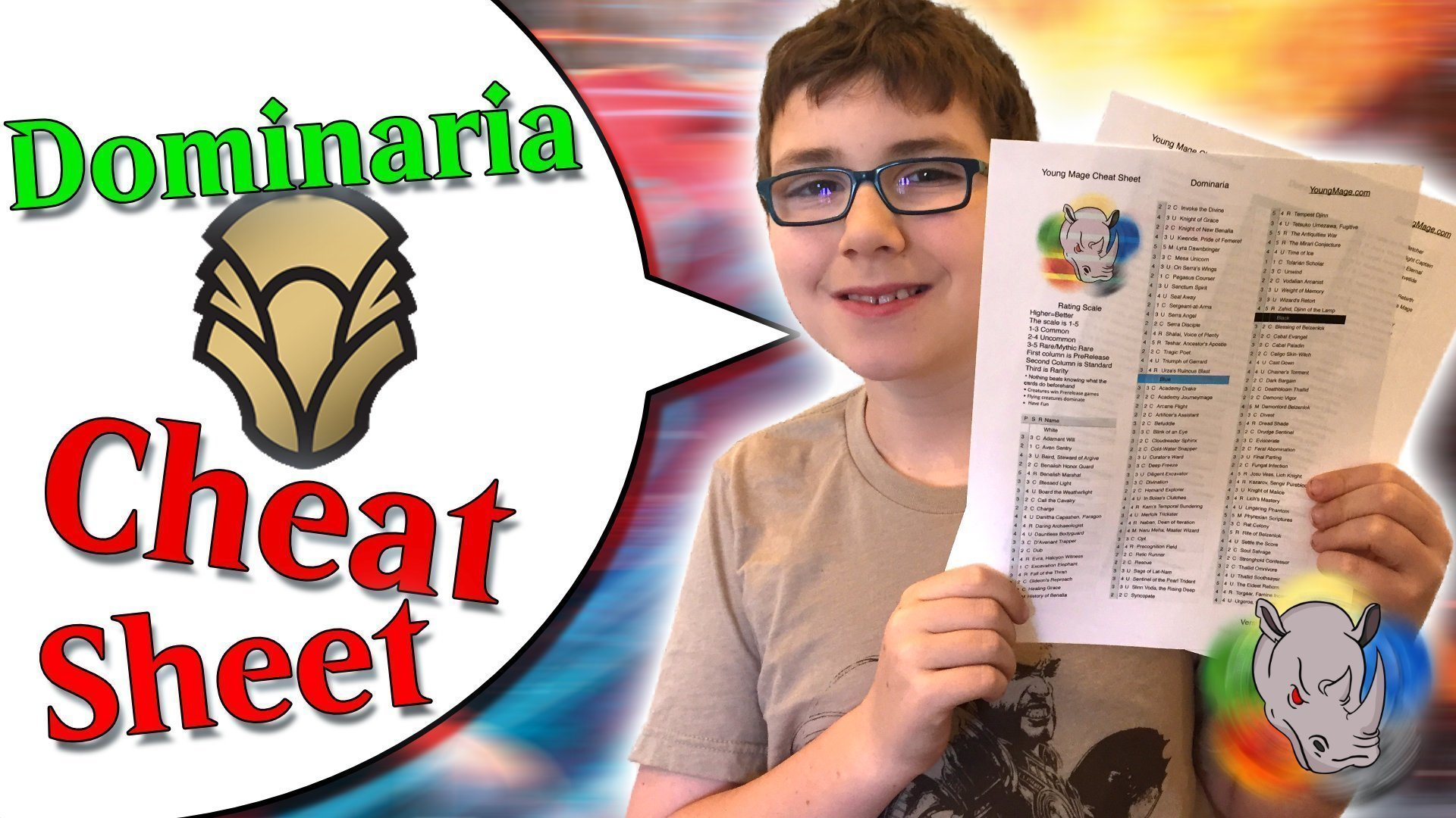 Dominaria Cheat Sheet and Confessions of a Prerelease Cheater