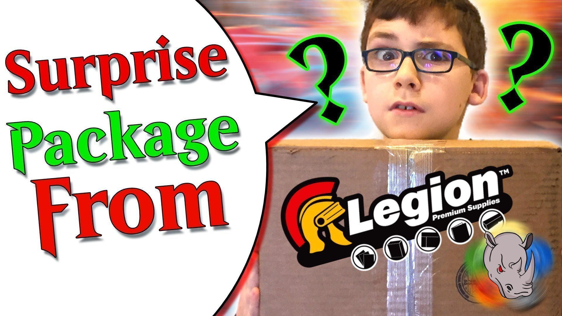 Surprise Package from Legion Supplies