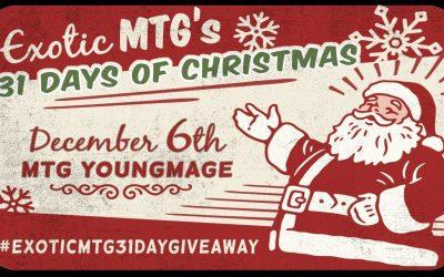 MTG Winston Draft and Giveaway #ExoticMTG31DayGiveaway