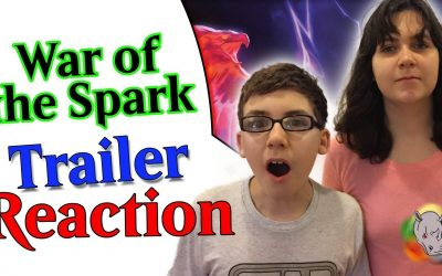 #MTGWAR War of the Spark Trailer Reaction