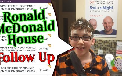 Ronald McDonald House Follow Up