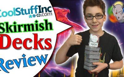 CoolStuffInc Skirmish Decks Review