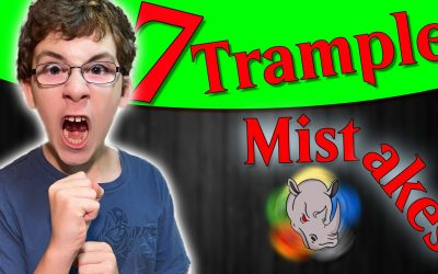 Seven New Player MTG Trample Mistakes