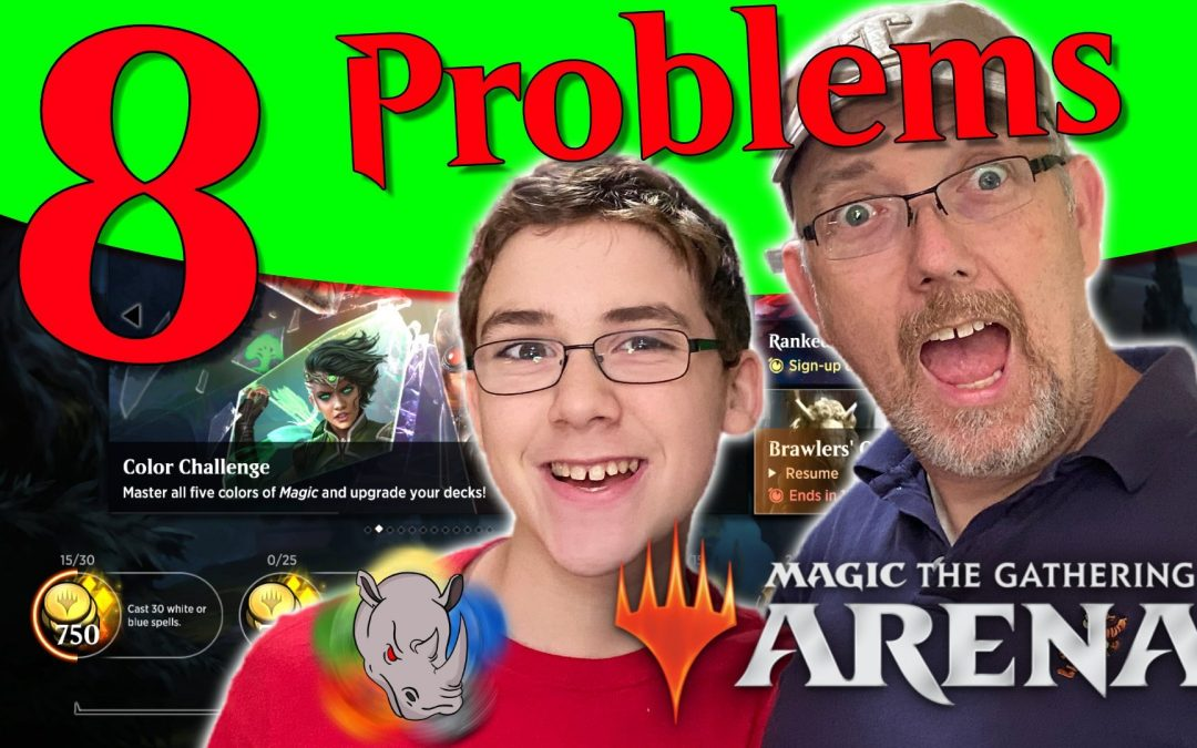 Eight Things We Don't Like About MTG Arena | Multi-Gen MTG Episode 01