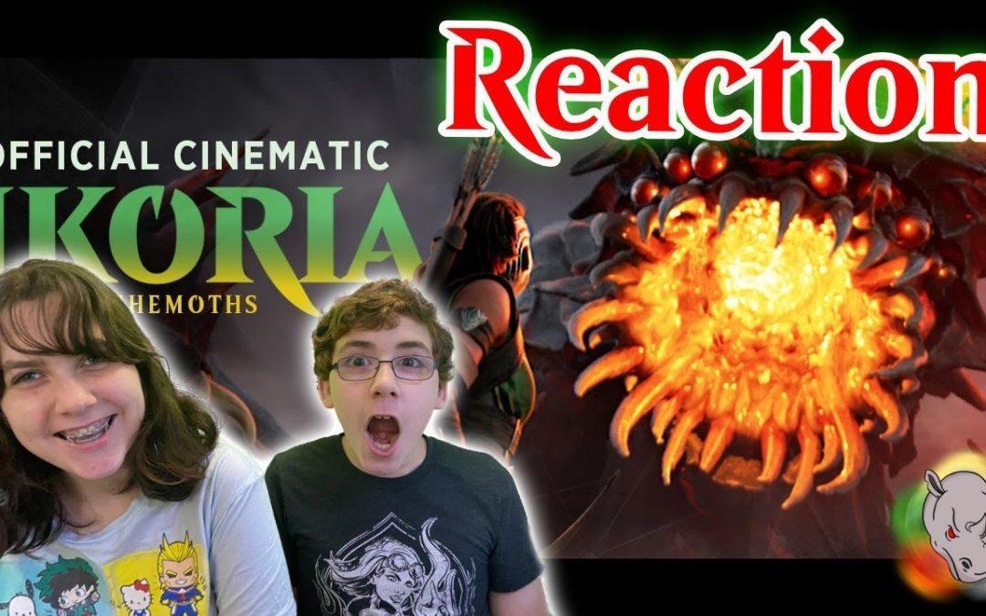 Official Ikoria Trailer Reaction