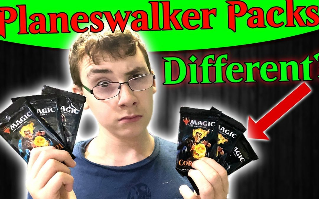 Are Planeswalker Booster Packs Different