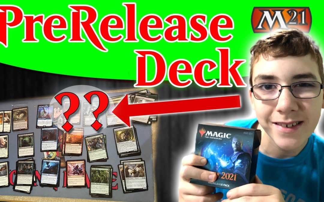 Building a Core 21 Prerelease Deck for Battle with Dana Fischer