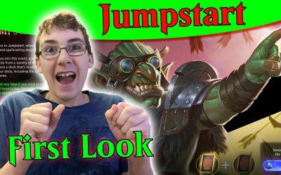 MTG Arena – Jumpstart a First Look