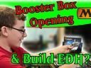 MTG Core 21 Booster Box Opening and Build Sealed EDH Deck