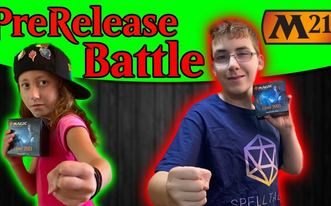 MTG Core 2021 PreRelease Battle with Dana Fischer | Sealed Decks