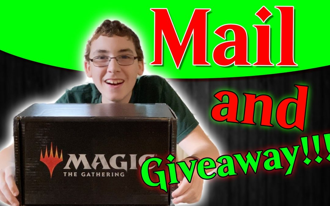Mail From WotC and Giveaway for Viewers and Patrons
