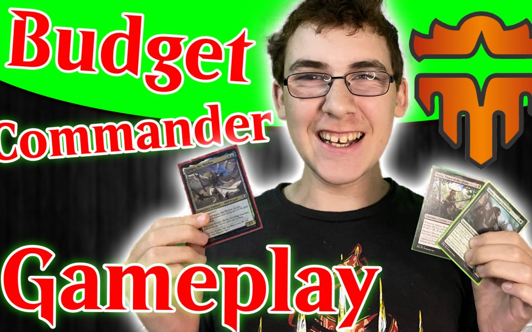 Commander Legends Budget Flyers and Elves Gameplay