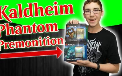 MTG Kaldheim Commander Phantom Premonition Opening and First Impressions