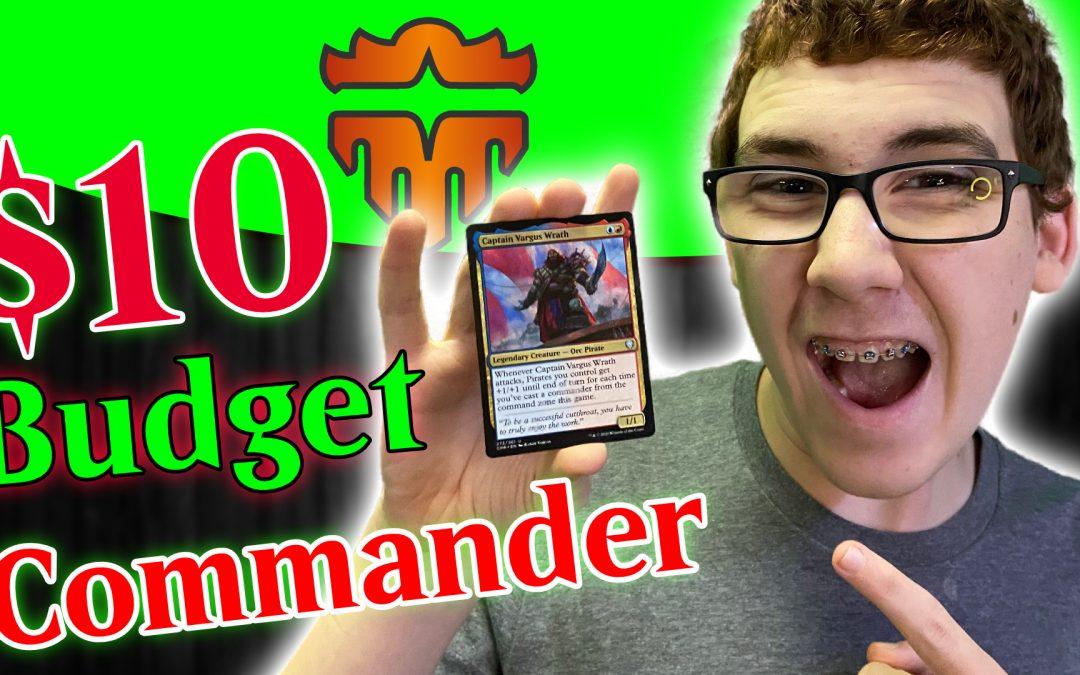 Budget Commander Deck Captain Vargas Wrath | 100 Commander Decks for New Players