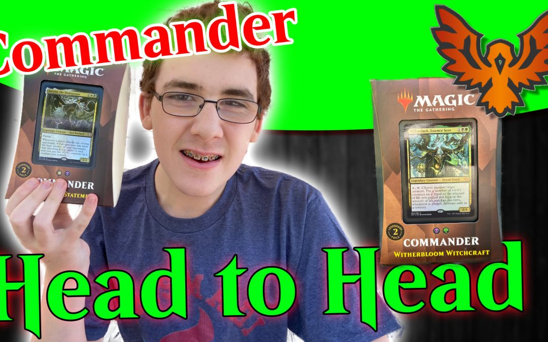 MTG Strixhaven Commander Silverquill vs Witherbloom Head to Head