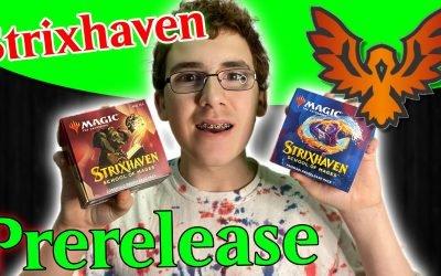 Strixhaven Prerelease at Home | Lorehold vs Prismari