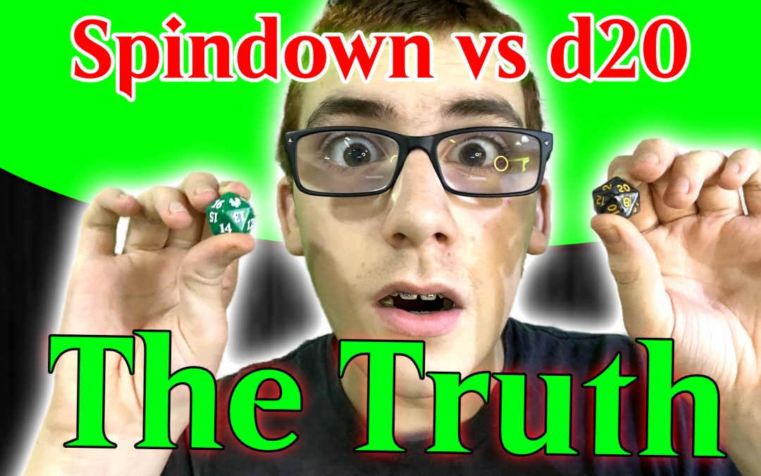 Truth about spindown vs d20 | Testing dice for randomness